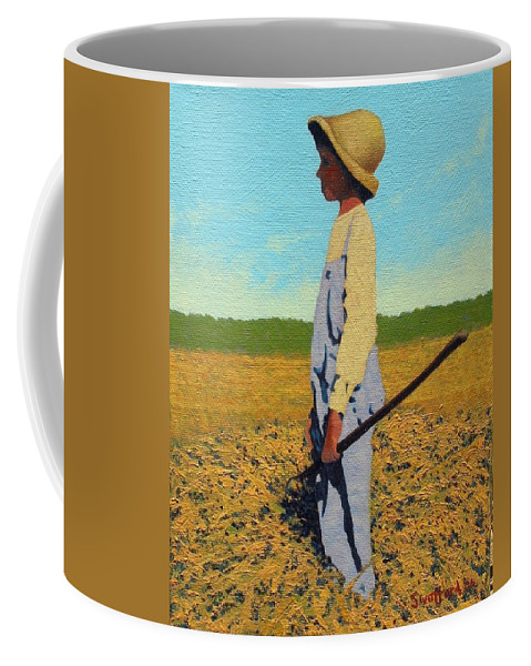 Country Coffee Mug featuring the painting Day Dreamer by Jim Bob Swafford