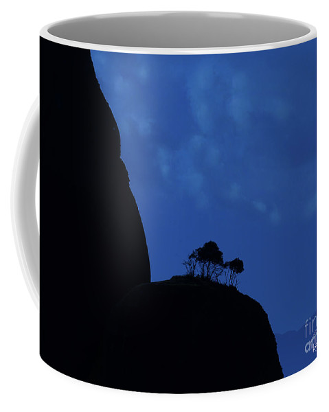 Landscape Coffee Mug featuring the photograph Day Dreaming In Meteora by Rene Gignac