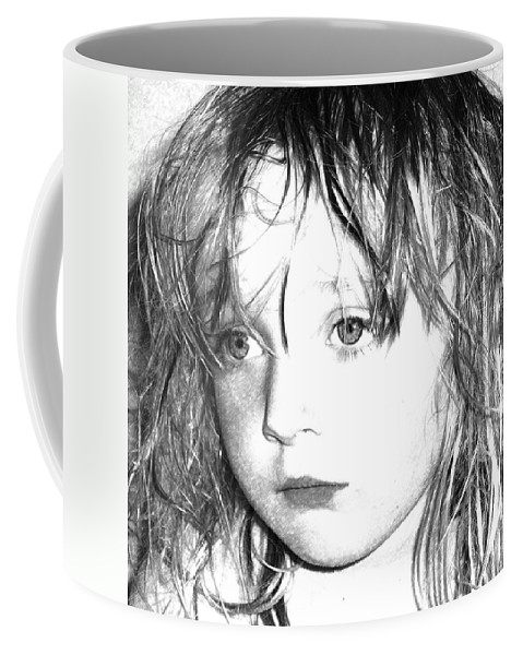 Day Dreaming Art Coffee Mug featuring the mixed media Day Dreaming by P Donovan