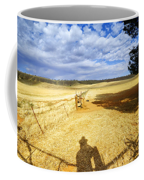 Landscape Coffee Mug featuring the photograph Day Dreaming by Wayne Sherriff