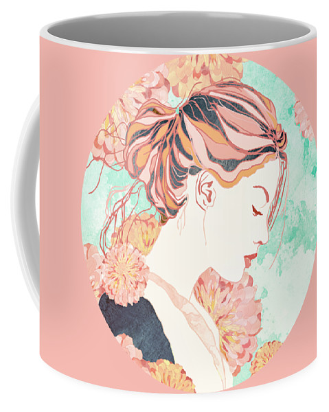 Digital Coffee Mug featuring the digital art Daydream by Spacefrog Designs