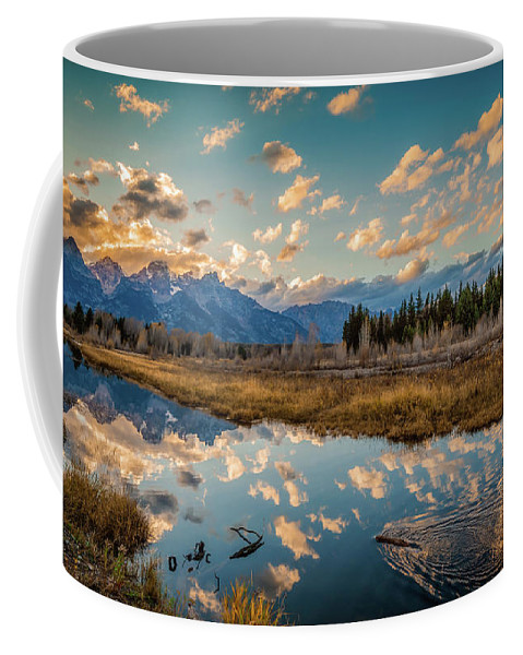Landscape Coffee Mug featuring the photograph Days End by Jason Dodd