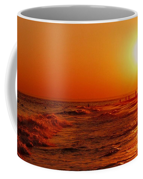 Sunset Coffee Mug featuring the photograph Day's End by Kendall Eutemey