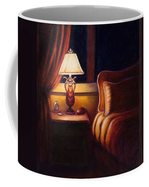 Still Life Coffee Mug featuring the painting Days End by Shannon Grissom