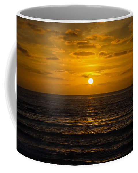 Days End Coffee Mug featuring the photograph Day's End by Susan McMenamin