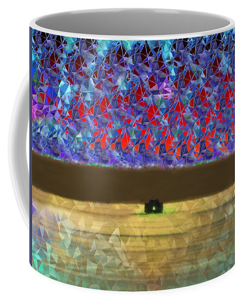 Abstract Coffee Mug featuring the photograph Days End by Tim Allen