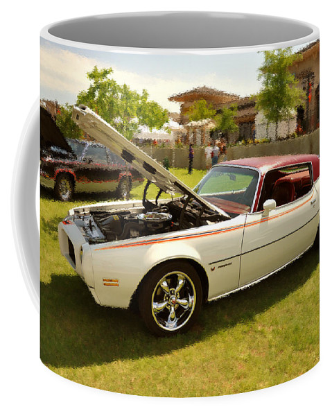 Antique Coffee Mug featuring the photograph Days Of Youth by Terry Anderson