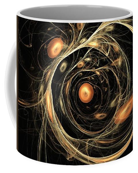 Art Coffee Mug featuring the digital art Dazhbog by Jeff Iverson