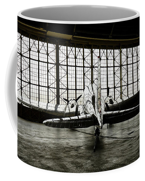 Dc-3 Coffee Mug featuring the photograph Dc-3 by Bill Gabbert