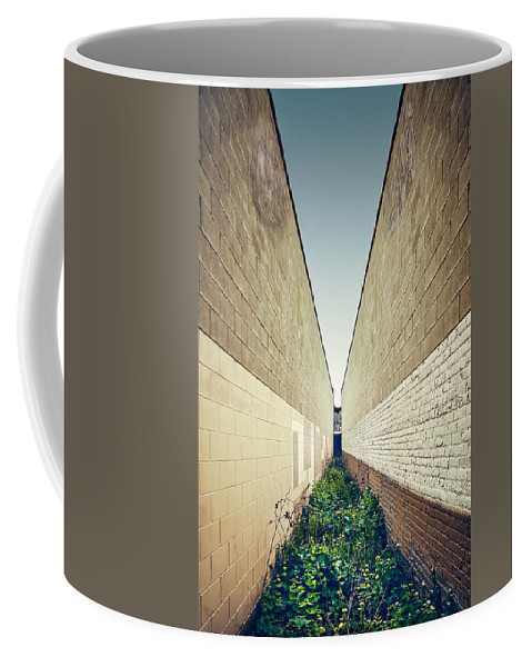 Minimal Coffee Mug featuring the photograph Dead End Alley by Scott Norris