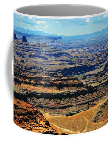 Dead Horse Point Coffee Mug featuring the photograph Dead Horse Point by Skip Hunt