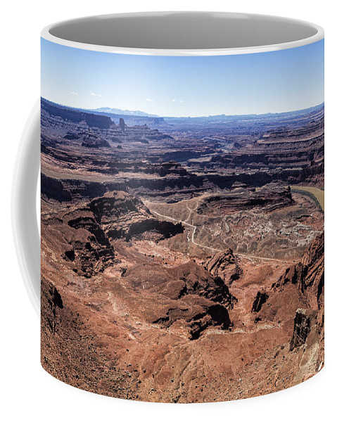Canyon Coffee Mug featuring the photograph Dead Horse State Park by Belinda Greb