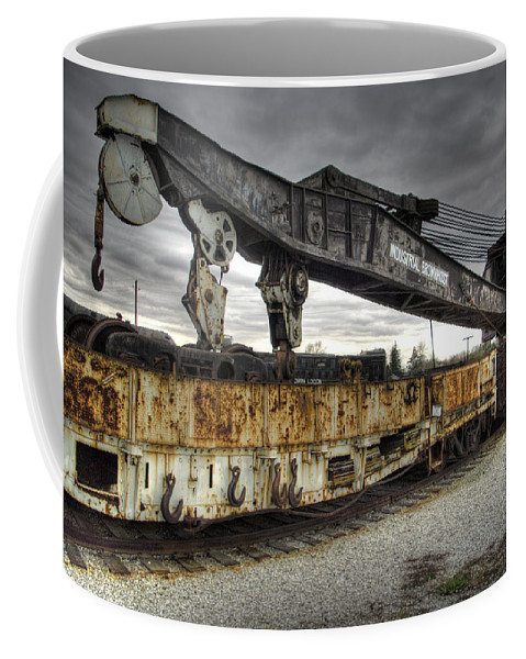 Hdr Coffee Mug featuring the photograph Dead Lift by Scott Wyatt