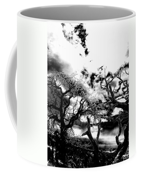 Tree Coffee Mug featuring the photograph Deadwood by Charleen Treasures