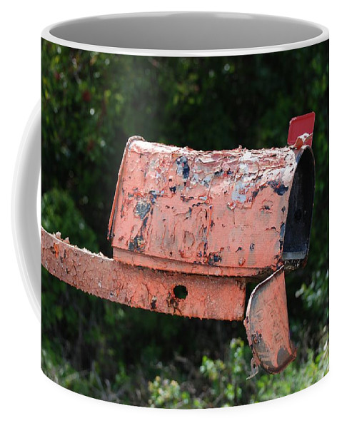 Country Scene Coffee Mug featuring the photograph Death By E Mail by Rob Hans