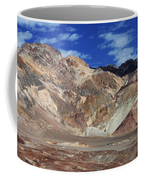 Adventure Coffee Mug featuring the photograph Death Valley 16 by Ingrid Smith-Johnsen