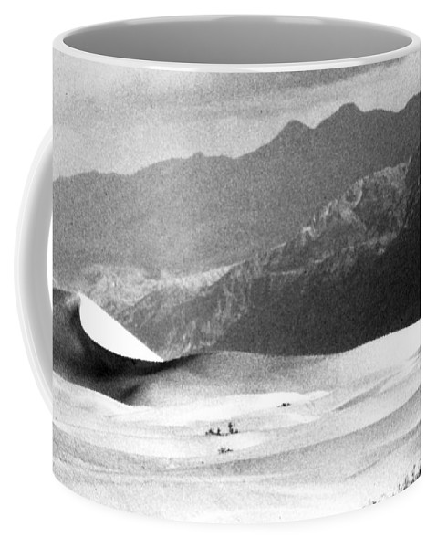 Western Scenes Coffee Mug featuring the photograph Death Valley 1977 by Norman Andrus