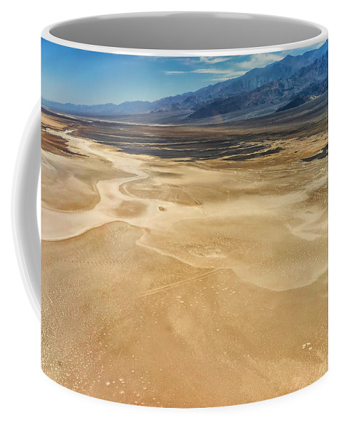 Adventure Coffee Mug featuring the photograph Death Valley 6 by Ingrid Smith-Johnsen