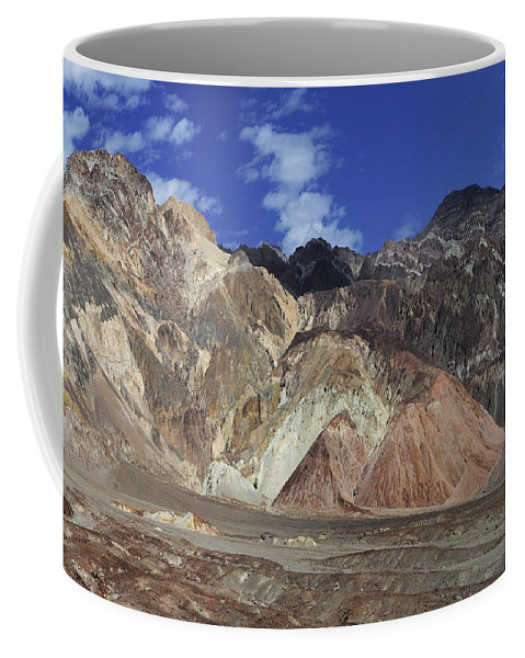 Adventure Coffee Mug featuring the photograph Death Valley 8 by Ingrid Smith-Johnsen