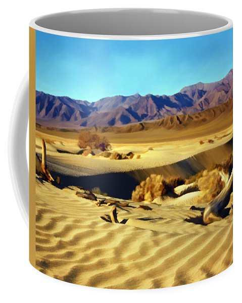 Death Valley Coffee Mug featuring the photograph Death Valley by Kurt Van Wagner