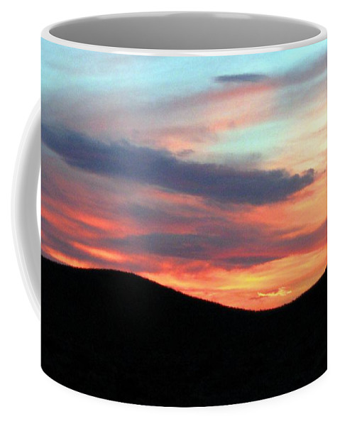 Sunset Coffee Mug featuring the photograph Death Valley Sunset by Will Borden
