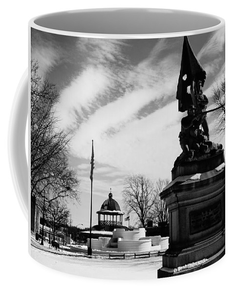 Decatur Coffee Mug featuring the photograph Decatur Transfer House by FineArtRoyal Joshua Mimbs