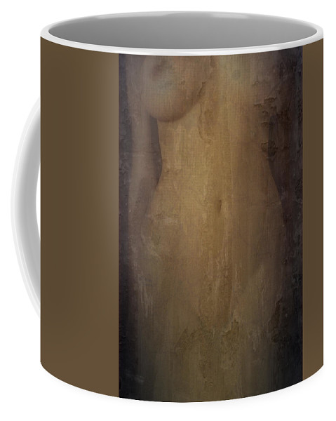 Abstract Coffee Mug featuring the photograph Decaying Memory by Scott Wyatt