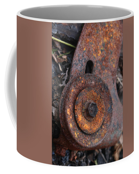 Rust Coffee Mug featuring the photograph Decomposition by Jeffery Ball