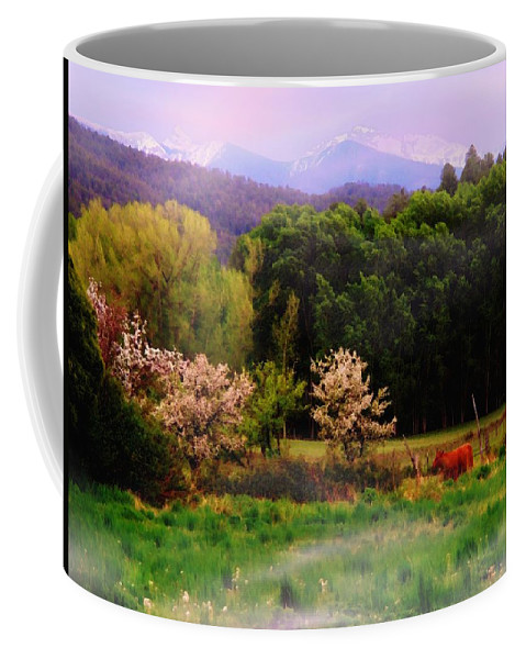 Mountains Coffee Mug featuring the photograph Deep Breath Of Spring El Valle New Mexico by Anastasia Savage Ealy