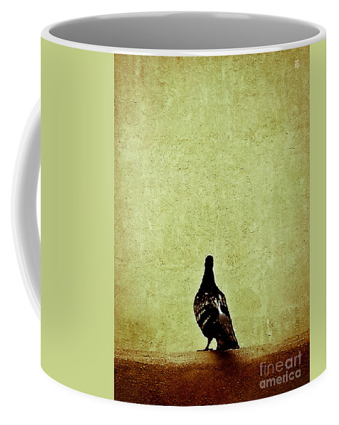 Dove Coffee Mug featuring the photograph Deep Thought by Fei A