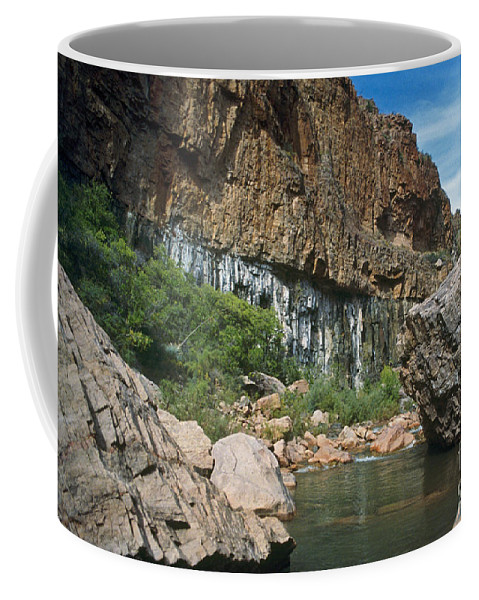 Landscape Coffee Mug featuring the photograph Deep Water by Kathy McClure