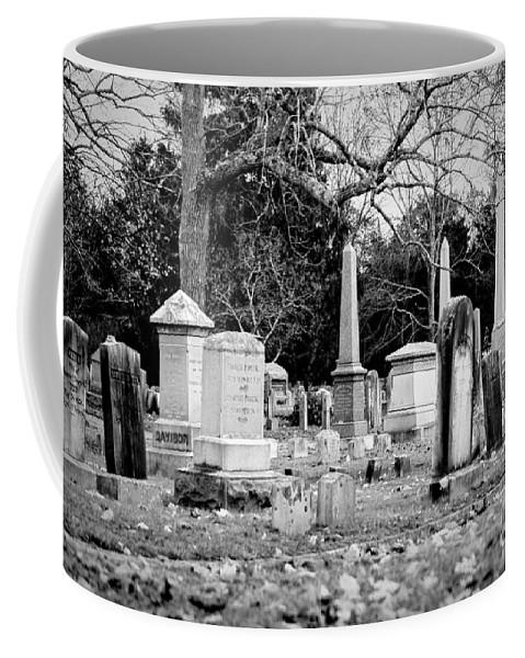 Cemetery Coffee Mug featuring the photograph Deep Within Evergreen Cemetery by Joe Geraci