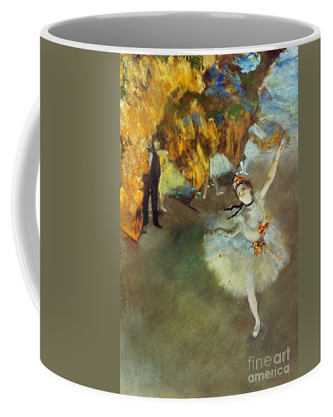 19th Century Coffee Mug featuring the photograph Degas Star, 1876-77. To License For Professional Use Visit Granger.com by Granger