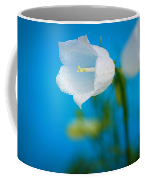 Bell Coffee Mug featuring the photograph Delicate Bells by Lisa Knechtel