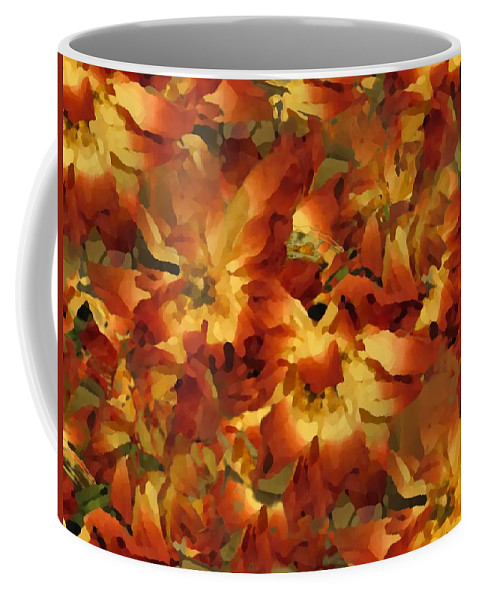 Flowers Coffee Mug featuring the photograph Delightful by Tim Allen