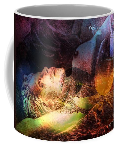 Fantasy Coffee Mug featuring the painting Delirium Tremens by Miki De Goodaboom