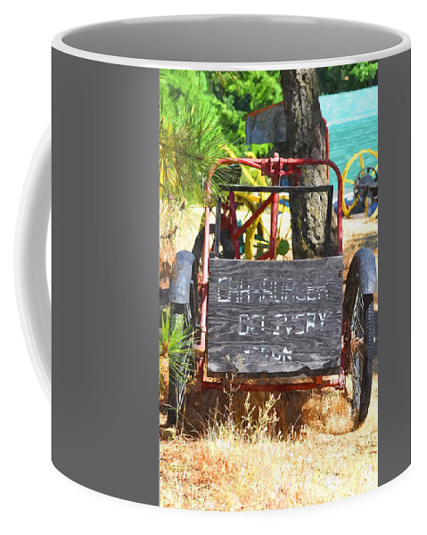 Hood River Coffee Mug featuring the photograph Delivery by Image Takers Photography LLC - Carol Haddon