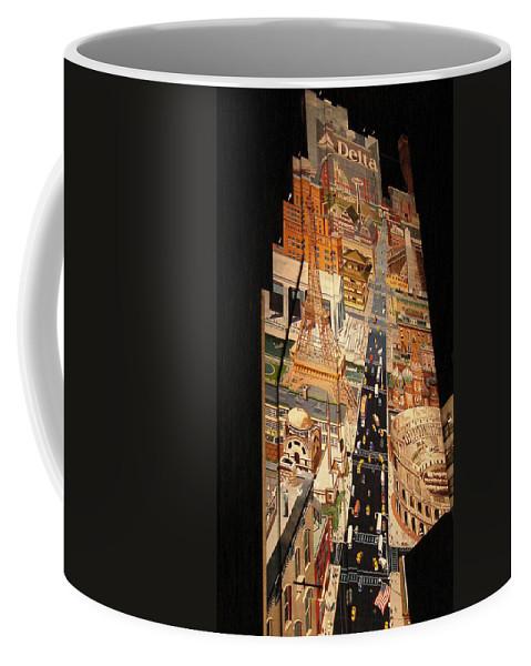 Delta Coffee Mug featuring the photograph Delta by Lovina Wright