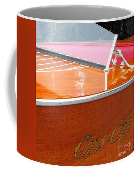 Chris Craft Coffee Mug featuring the photograph Chris Craft Deluxe by Neil Zimmerman