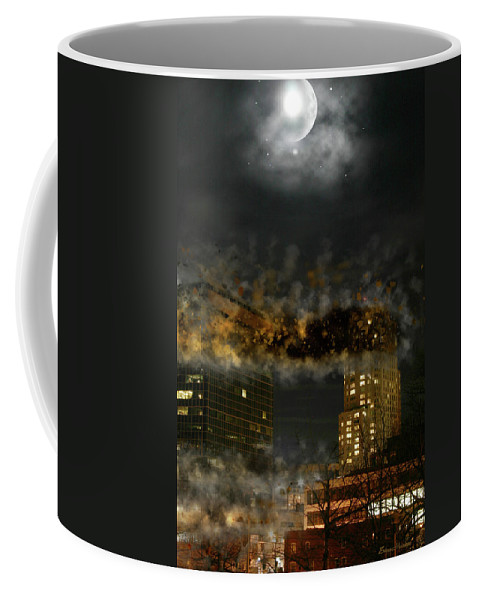 Demolition Coffee Mug featuring the photograph Demolition by Ericamaxine Price