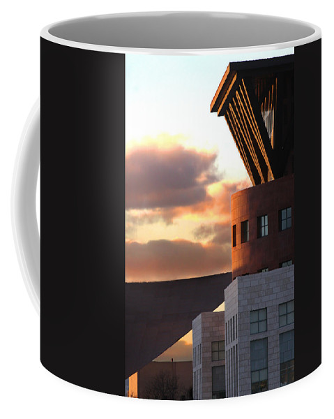 Denver Coffee Mug featuring the photograph Denver Art Museum And Library by Jeffery Ball