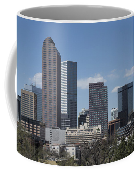 Buildings Coffee Mug featuring the photograph Denver Colorado by Juli Scalzi