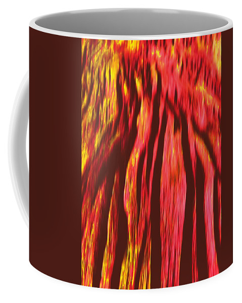 Background Coffee Mug featuring the digital art Depths Of Mordor by Vincent Green