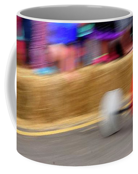 Coffee Mug featuring the photograph Derby Days by Jerry Sodorff