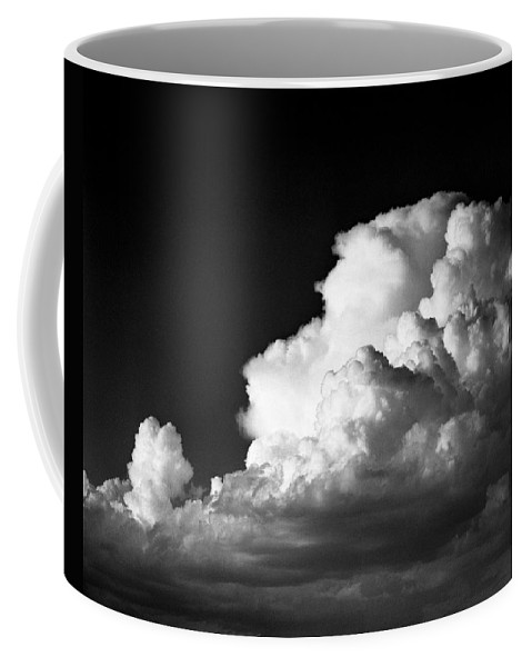 Clouds Coffee Mug featuring the photograph Desert Clouds by Alex Snay