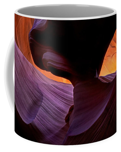 Eye Coffee Mug featuring the photograph Desert Eye by Mike Dawson