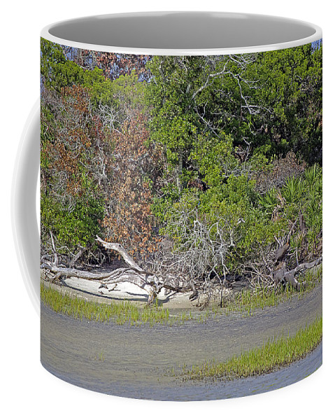 Island Coffee Mug featuring the photograph Desert Isle by Kenneth Albin