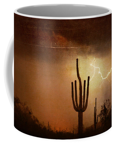 Southwest Coffee Mug featuring the photograph Desert Landscape Southwest by James BO Insogna