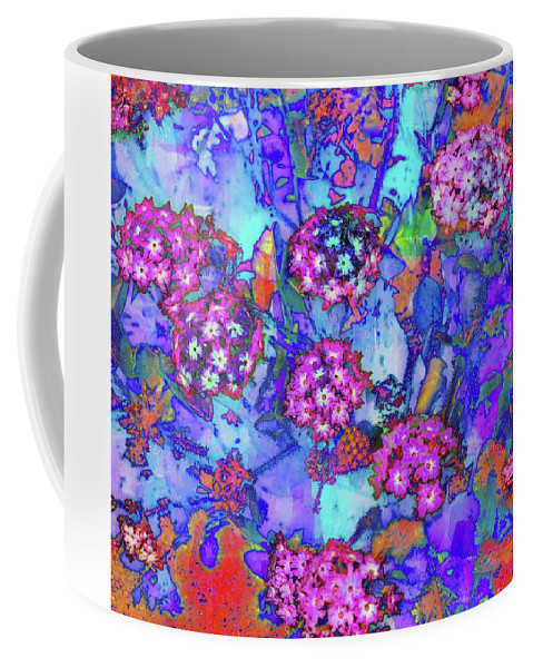 Art Coffee Mug featuring the photograph Desert Vibe Bloom by Michael Hope