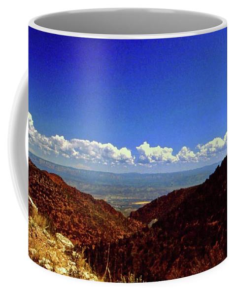 Arizona Coffee Mug featuring the photograph Desert Vista by Gary Wonning